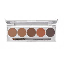 Kryolan - Eyebrow Powder Palette 5 Colors